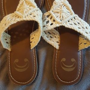 Charming Charlie Shoes - Charming Charlie Thong Sandals Size 6